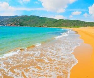 beach, bright colors, and landscape image