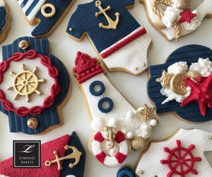 boat, Cookies, and dessert image