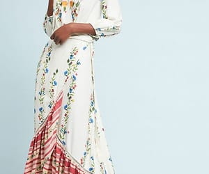 fashion, flower dress, and smart image