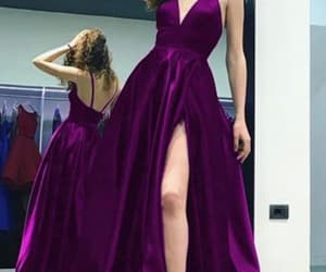 dress, prom dress, and elegent image