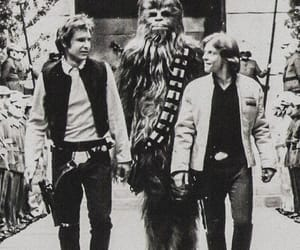 star wars, chewbacca, and han solo image