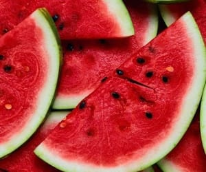 watermelon, red, and fruit image