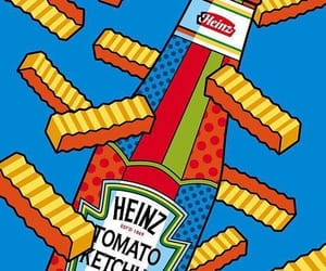 food, heinz, and ketchup image