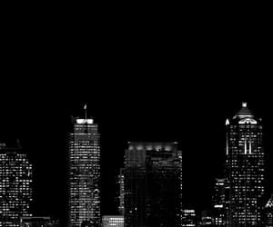 black and white, travel, and city life image