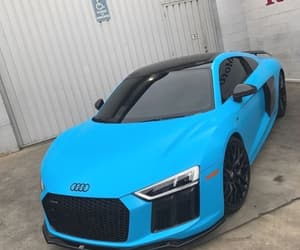 audi, awesome, and blue image