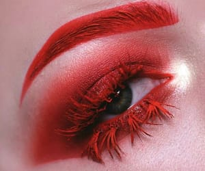 beauty, cosmetic, and red image