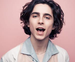 actor, timothee chalamet, and boy image