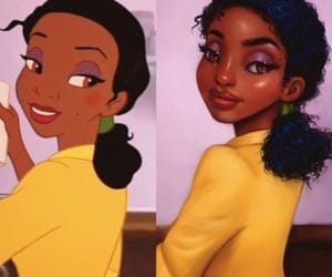 disney, art, and tiana image
