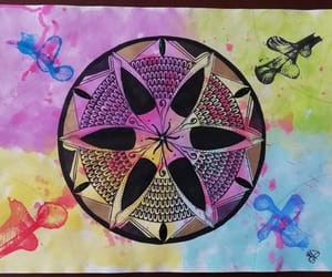 color, mandala, and picture image