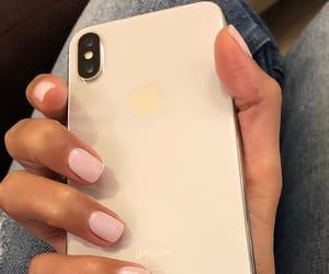 nail, nails, and iphone x image