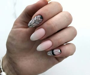elegance, geometry, and nails image
