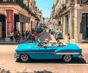 car, havana, and travel image