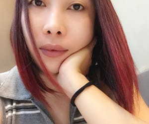 redhair, newhaircut, and treatment image