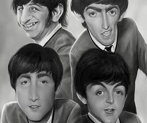 band, caricature, and Paul McCartney image