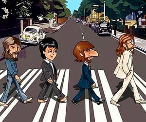 abbey road, art, and humor image