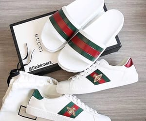 gucci, flips flops, and shoes image