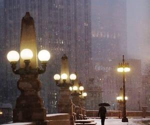 snow, usa, and winter image