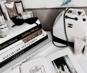 bag, book, and chanel image