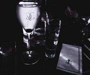 drink, theme, and dark image