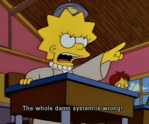 lisa, simpsons, and quotes image