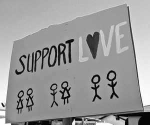 love and support image