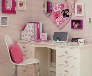 decoration, desk, and vintage image