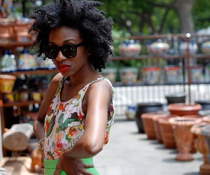 african american, Afro, and natural hair image