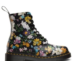 90s, boots, and flowers image