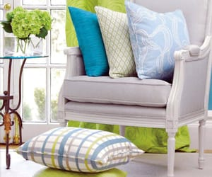 armchairs, coastal, and interiors image