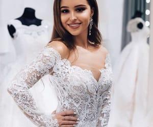 bridal, beauty, and bride image