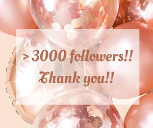 3000, followers, and we heart it image