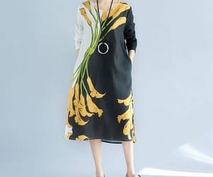 black dress, summerdress, and maxidress image