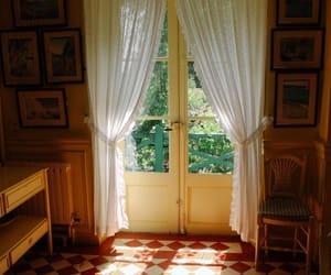 aesthetic, curtains, and house image