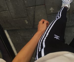 adidas, girl, and leggings image