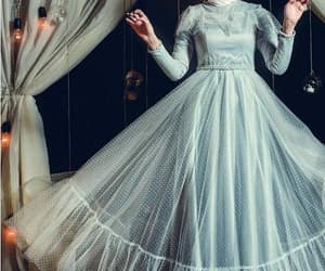 soiree hijab dress image