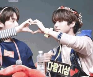 gif, Minho, and jisung image