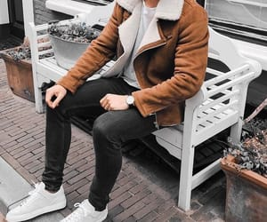 menswear, outfit, and men's style image