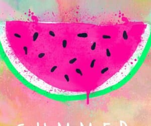 background, melon, and summer image