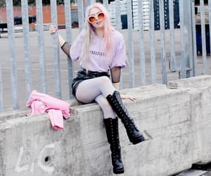 dark, grunge, and outfit image