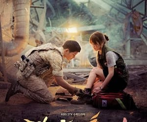descendants of the sun, song hye kyo, and drama image