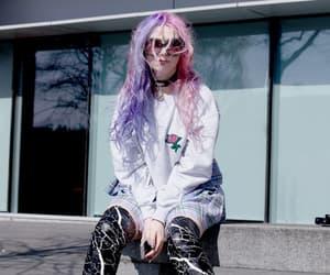 goth, pastel, and grunge image