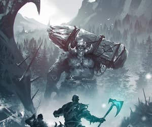 art, game, and god of war image