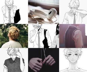 aesthetic, manga, and manga boy image