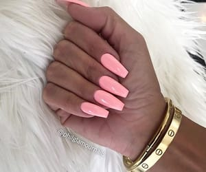 bracelet, cartier, and nails image
