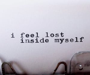 lost, quotes, and sad image