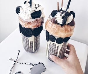 coffe, oreo, and donuts image
