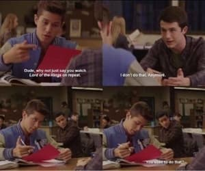 13 reasons why, dylan minnette, and brandon larracuente image