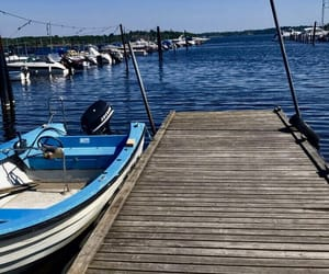 sweden, water, and boat image