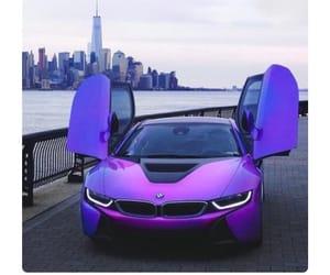 car, bmw, and purple image