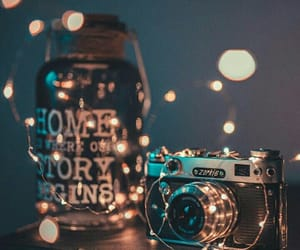 amazing, jar, and lights image